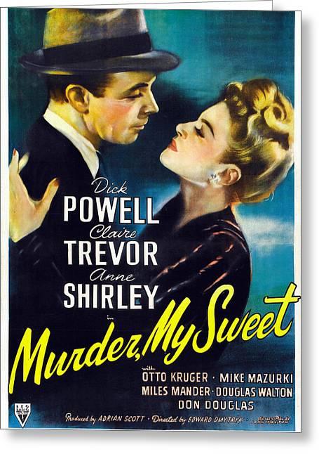 Murder My Sweet - 1944 Greeting Card