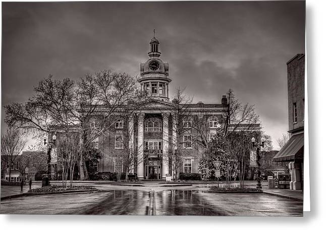 Murfreesboro Town Hall Greeting Card by Brett Engle