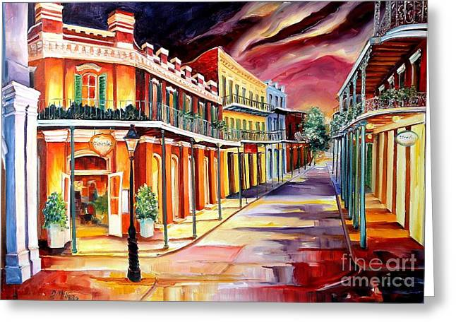 Muriel's In The French Quarter Greeting Card