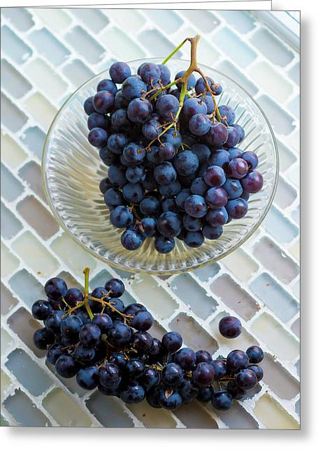 Muscat De Hambourg Grapes Greeting Card by Aberration Films Ltd