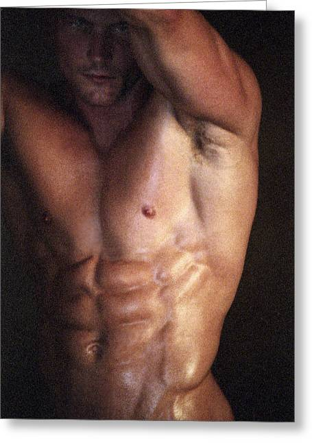 Muscolo Nudo Greeting Card by Tonino Guzzo