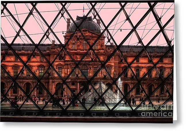 Musee De Luvre Greeting Card