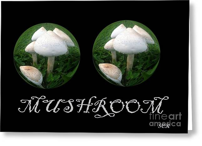 Greeting Card featuring the photograph Mushroom Art Collection 3 By Saribelle Rodriguez by Saribelle Rodriguez