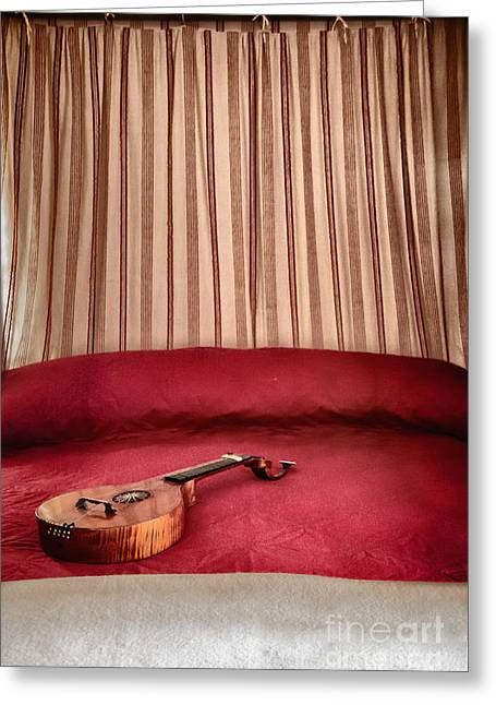 Music For Relaxation Greeting Card