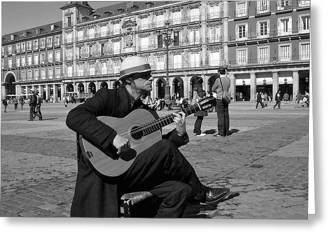 Music-guitarist Greeting Card