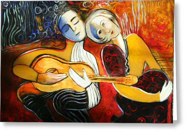 Music Lovers Greeting Card