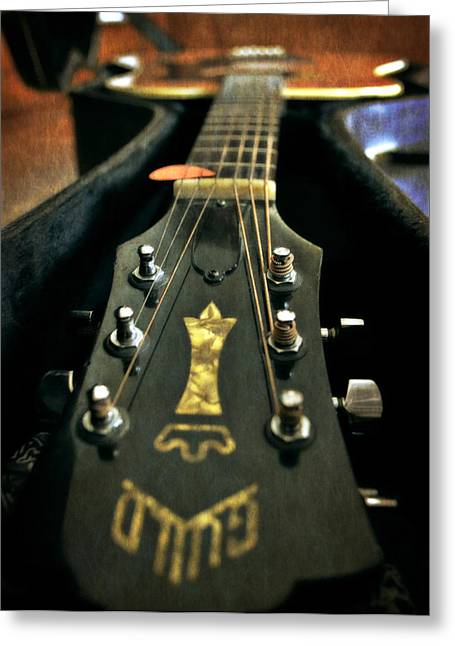 Music Maker Greeting Card by Michelle Calkins