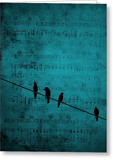 Music Soothes The Soul Greeting Card