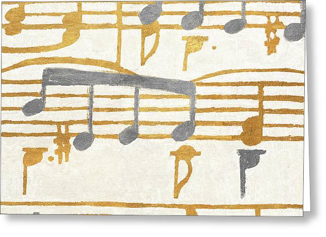 Music Stanzas I Greeting Card