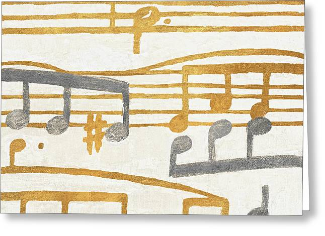 Music Stanzas II Greeting Card