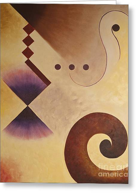 Musical Journey I Greeting Card