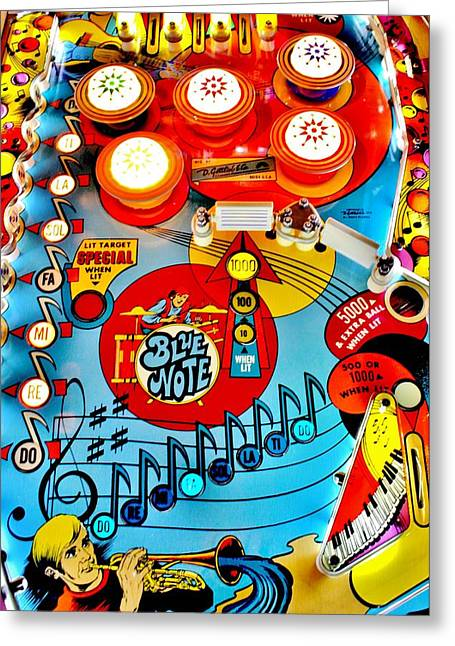 Musical Playfield Greeting Card