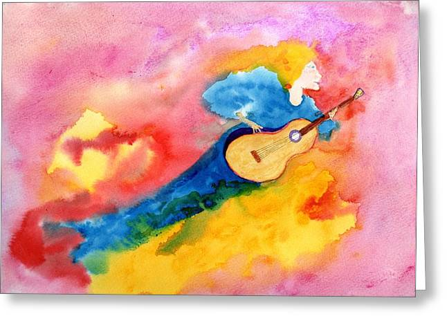 Musical Spirit 19 Greeting Card