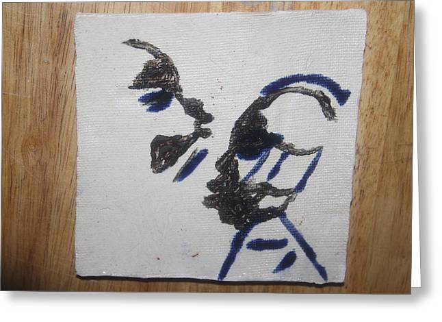 Musicman - Tile Greeting Card