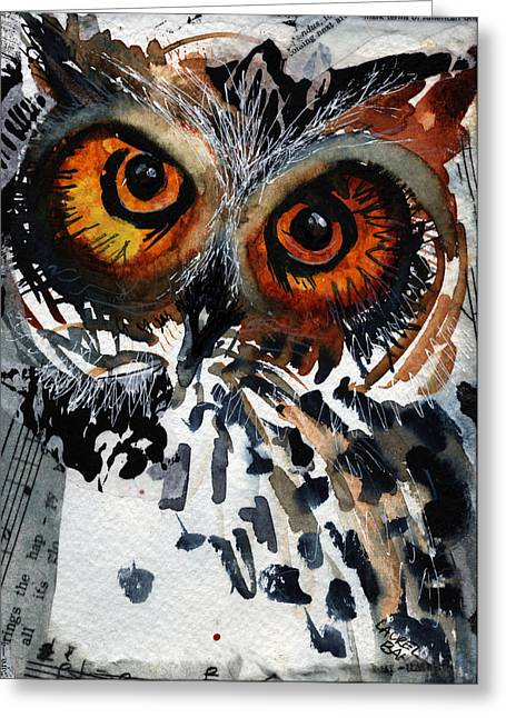 Musicowl Greeting Card