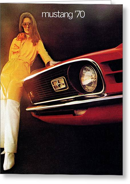 Mustang '70 Greeting Card