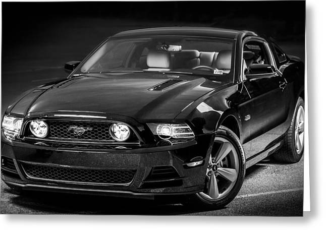 Mustang Gt Greeting Card