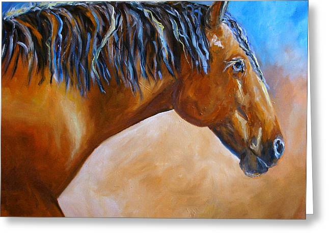 Mustang Horse Greeting Card