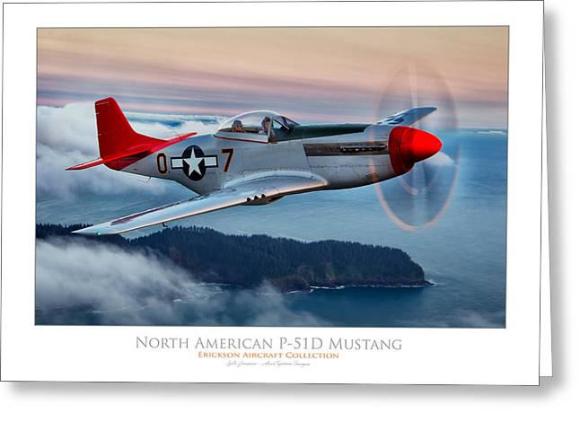 Mustang Sunset Greeting Card by Lyle  Jansma