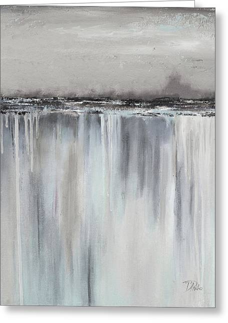 Muted Paysage II Greeting Card by Patricia Pinto