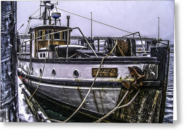 Mv Stimson R Greeting Card by Timothy Latta