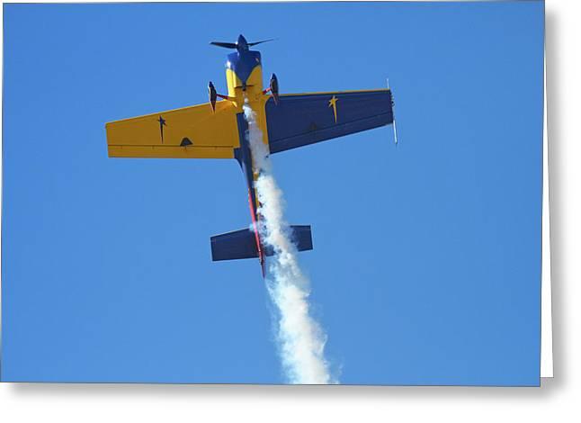 Mx2 Aerobatic Aircraft Greeting Card by David Wall