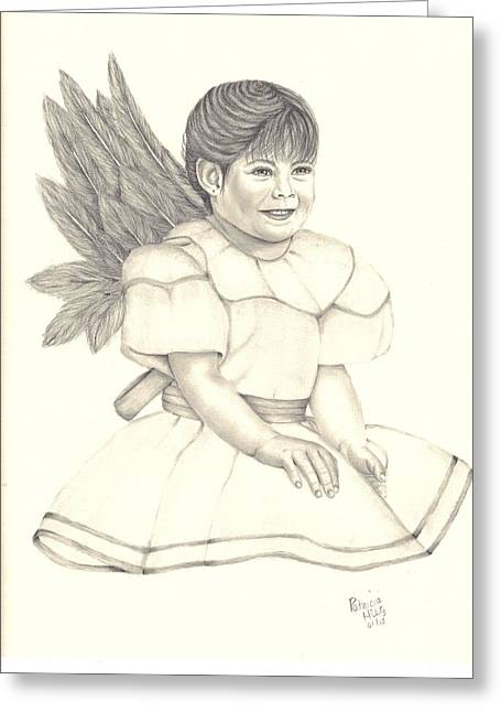 My Angel Greeting Card by Patricia Hiltz
