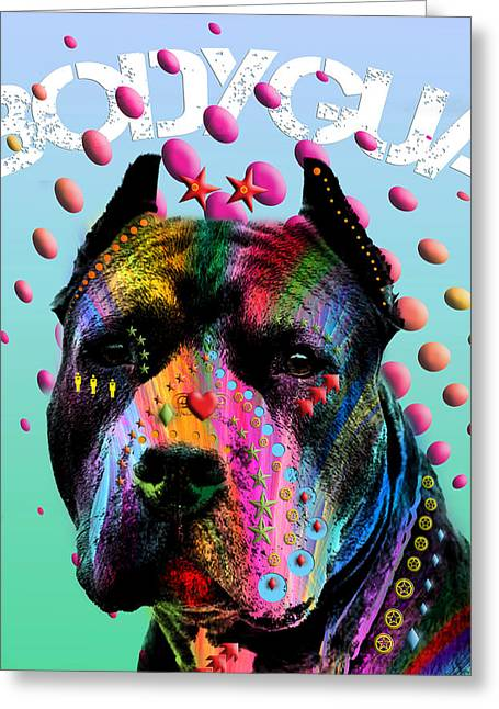 My Bodyguard Greeting Card by Mark Ashkenazi