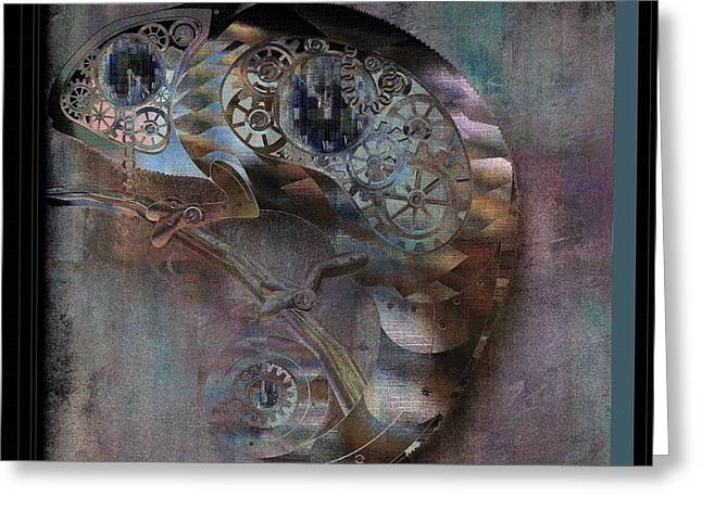 Chameleon - Vspgr01b Greeting Card by Variance Collections