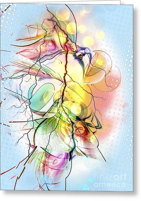 My Colors By Nico Bielow Greeting Card by Nico Bielow