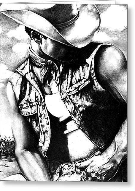 My Cowboy Man Greeting Card