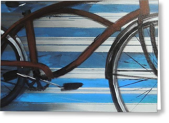My Cruiser Greeting Card by Vivian Mora