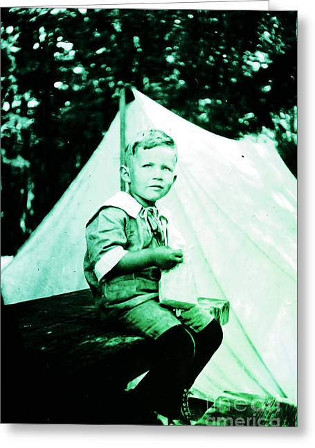 Greeting Card featuring the photograph My Dad... by Eddie Eastwood