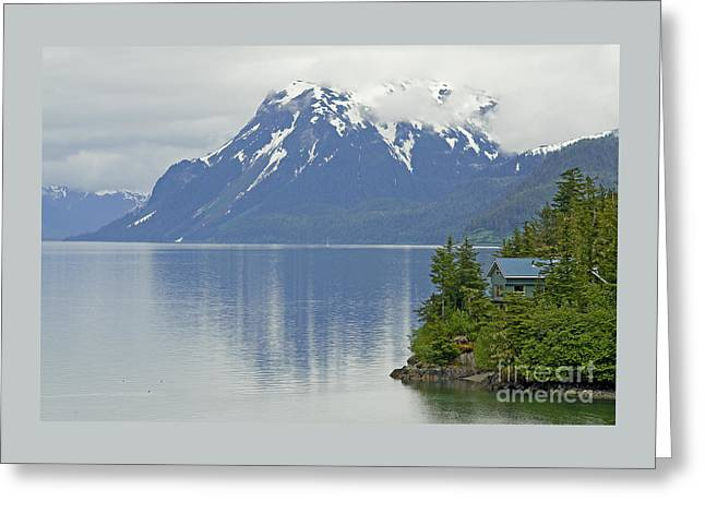 Greeting Card featuring the photograph My Dream Home by Nick  Boren