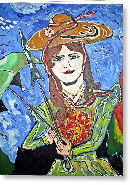 My Fair Lady Greeting Card by Matthew  James