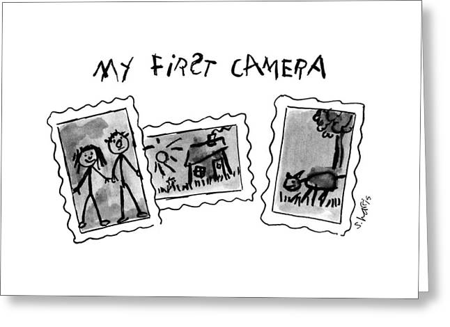 My First Camera Greeting Card