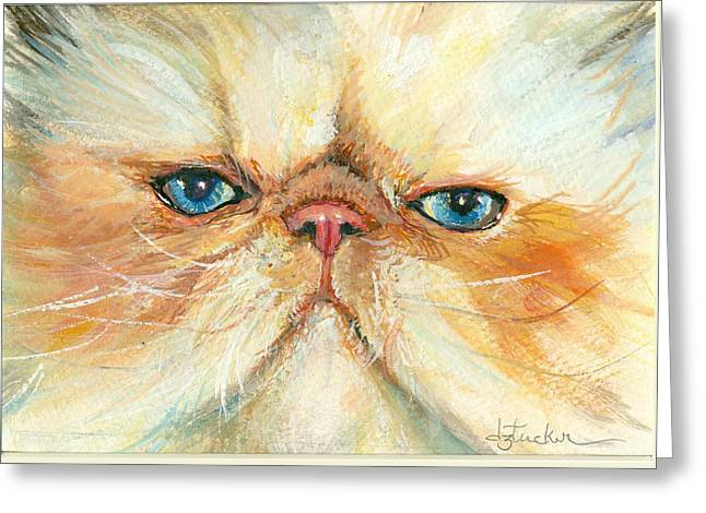 My Happy Face Greeting Card by Donna Tucker