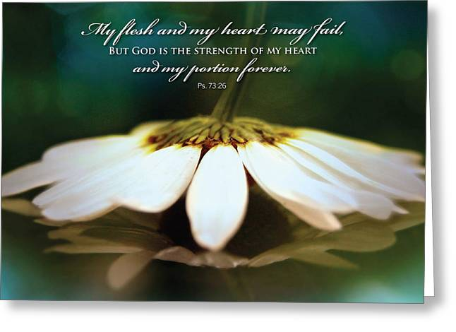 My Heart May Fail Greeting Card