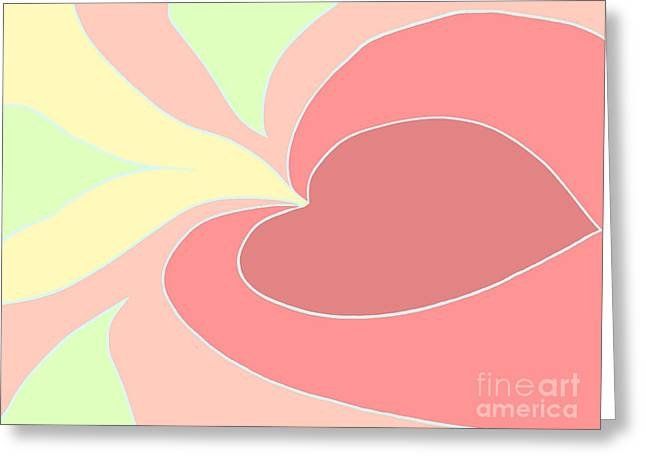My Heart To You Greeting Card by Henry Manning