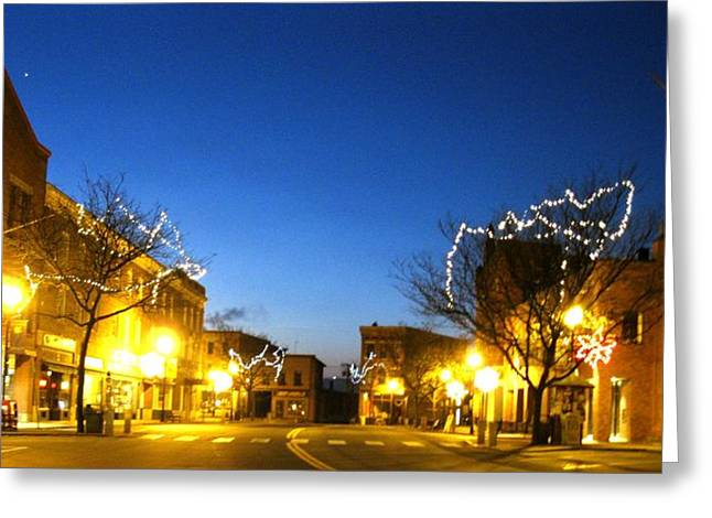 My Home Town 2 Greeting Card by Will Boutin Photos