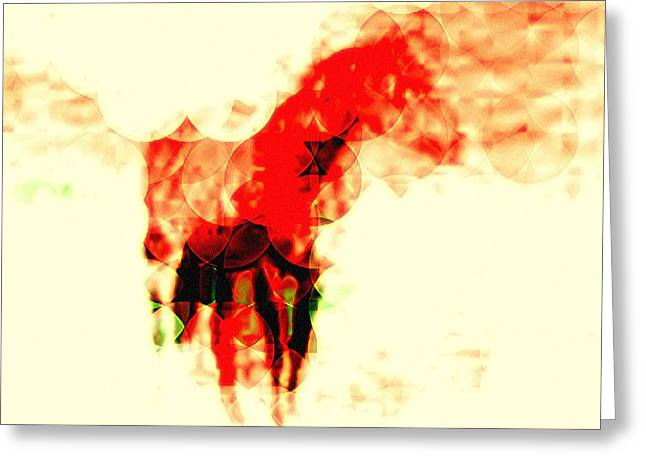 My Horse Your Horse Greeting Card by Terry Matysak