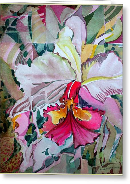My Lady Greeting Card by Mindy Newman