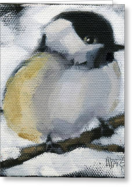 My Little Chickadee Greeting Card