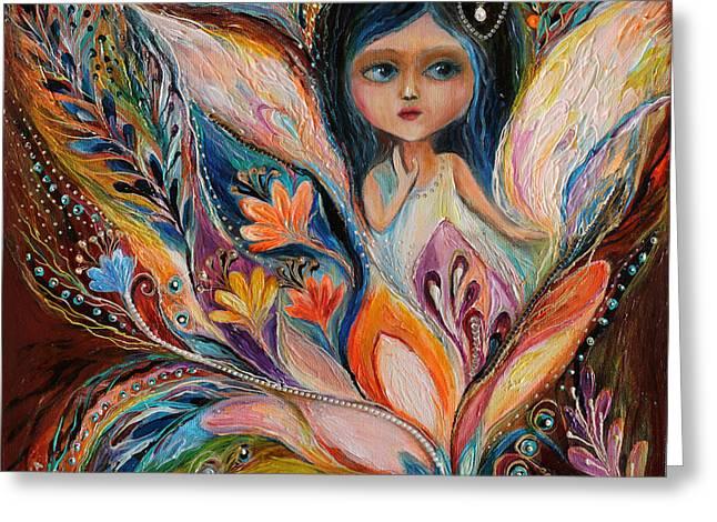 My Little Fairy Francine Greeting Card by Elena Kotliarker