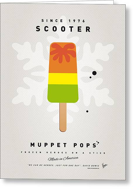 My Muppet Ice Pop - Scooter Greeting Card