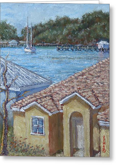 Marsh Harbour Martini Greeting Card