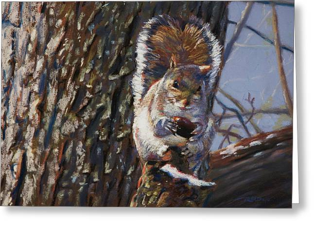 My Nut Greeting Card by Christopher Reid