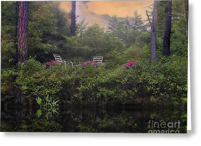 My Peaceful Place Greeting Card by Brenda Giasson