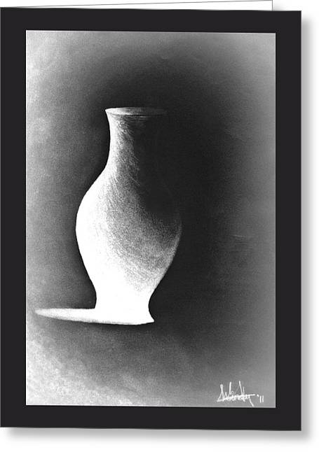 My Pride In Negative Space Greeting Card by Susan Windy Moraa