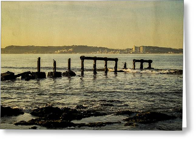 My Sea Of Ruins II Greeting Card by Marco Oliveira